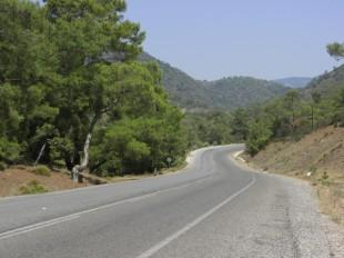 Road from Fethiye