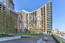 Studio apartment to rent in New Providence Wharf...