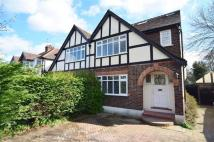 semi detached house in Esher Road, East Molesey...