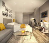new Studio apartment for sale in Jarrom Street, Leicester...