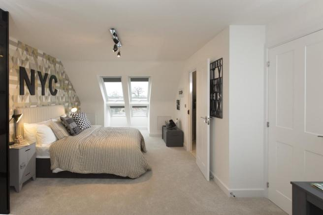 Buckingham Top Floor Bedroom