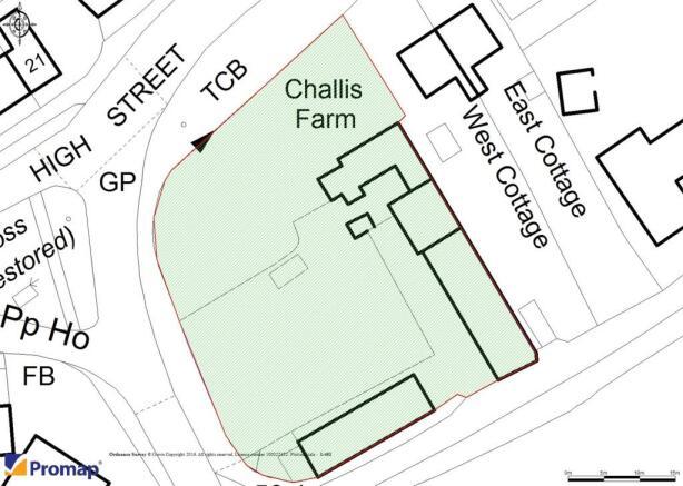 Site Plan 0.5 Acre