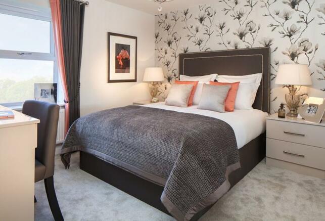 Oakfield Master bedroom with en-suite