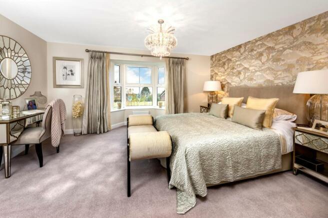 Kemble master bedroom