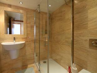 Stylish guest bathroom