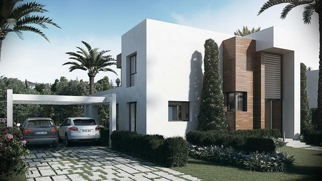 Villa type D - Entrance