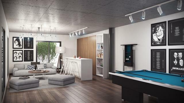 Villa type B - Basement