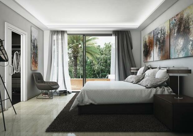 Villa type D - Bedroom