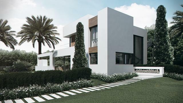 Villa type C - Entrance