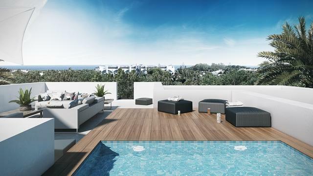 Villa type D - Roof terrace
