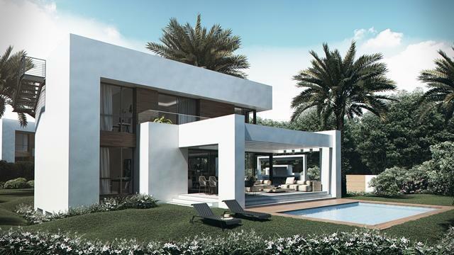 Villa type C - Garden and Swimming Pool