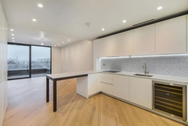 Kitchen/Reception  (