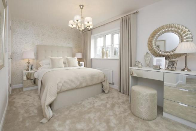Typical Thame master bedroom
