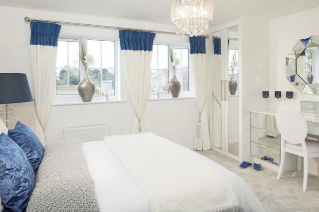 Typical Rochester master bedroom