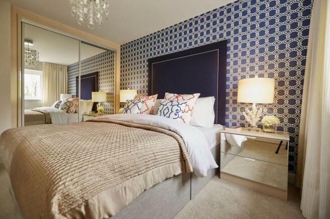 Typical Thame master bedroom