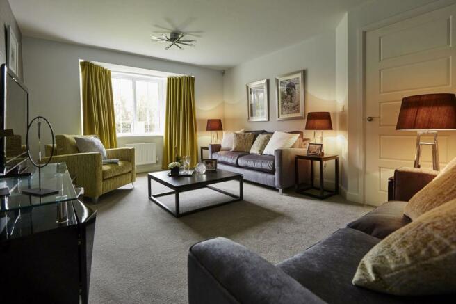Honeysuckle Grange Chesham show home lounge
