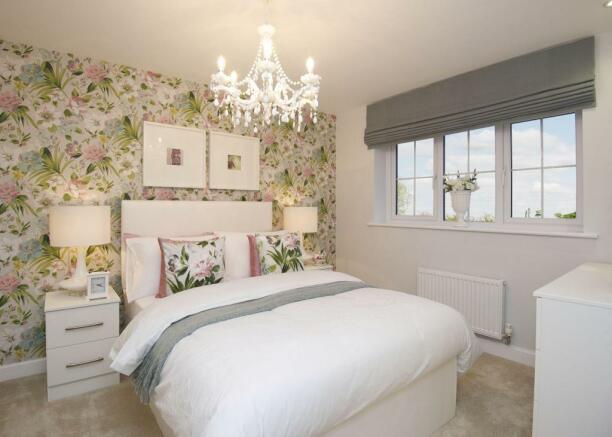 Typical Kennington second bedroom