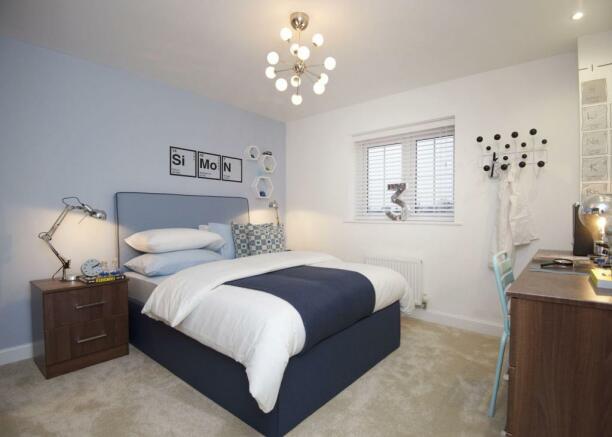 Typical Kennington fourth bedroom