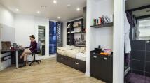 Studio apartment in Camley Street, London...