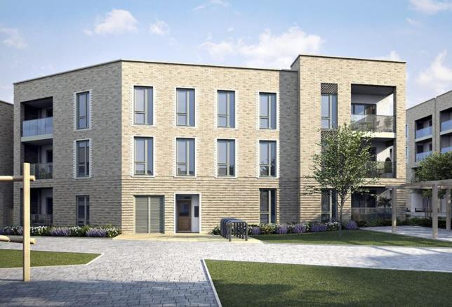 Computer Generated Impression of Apartments