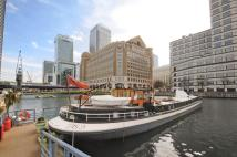 West India Quay House Boat