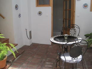 Covered inner patio