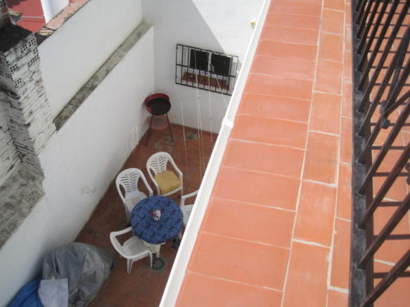 Patio from terrace