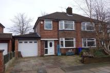 3 bed semi detached property to rent in Botany Road, Manchester...