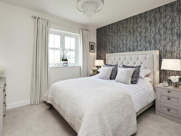 Beautiful double bedroom with en-suite shower room
