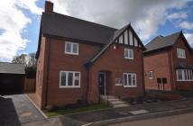 new house in Spire Close, Ashbourne