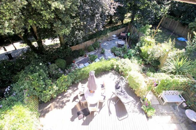 Garden from Bedroom 1