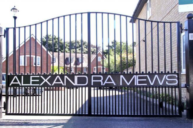 Entrance Gates to Alexandra Mews