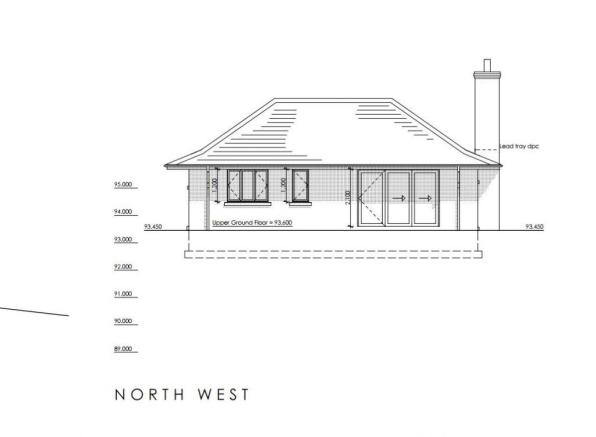 North-West Elevation