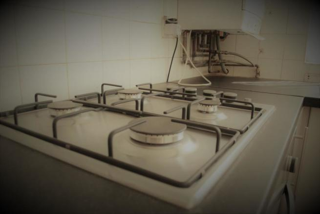 Clean 4 hob cooker