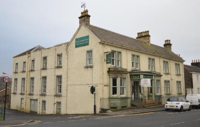 10 bedroom house for sale in former castle campbell hotel for Former hotel for sale