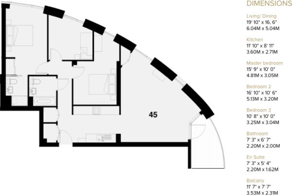 Plot 45 floorplan