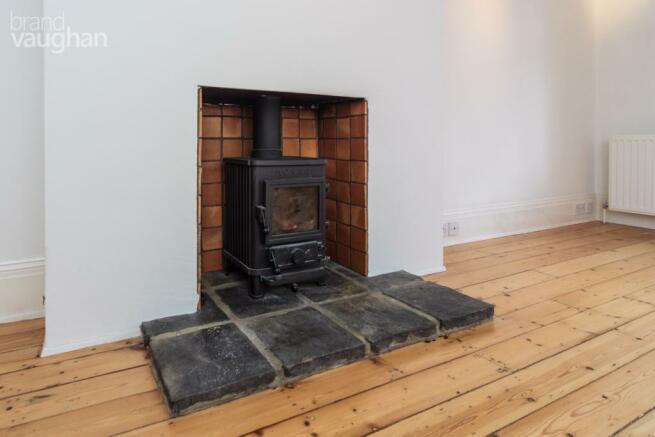 Reception - log burn