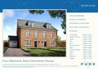 4 bed new property in Plot 36...