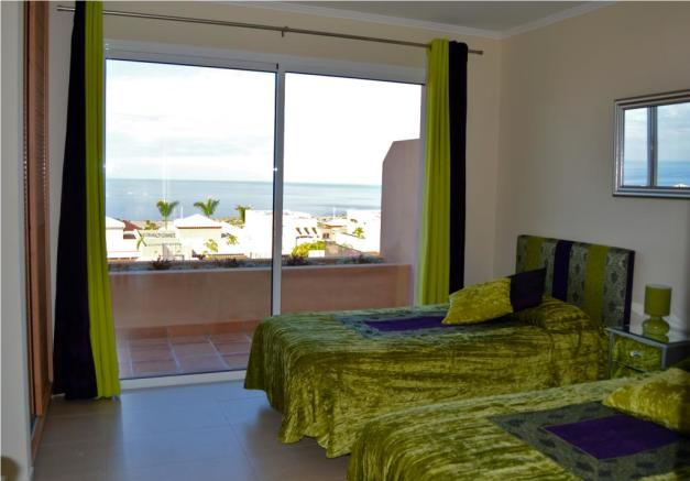2 single bed view
