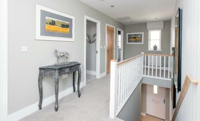 Four bed - Hallway