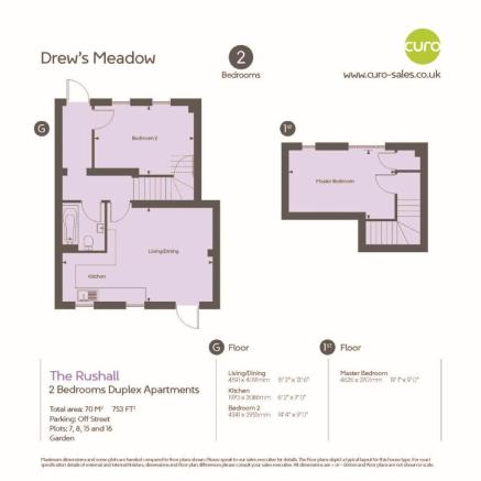 Rushall -Floorplan