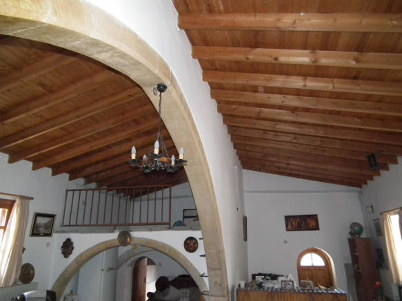 pitched ceiling