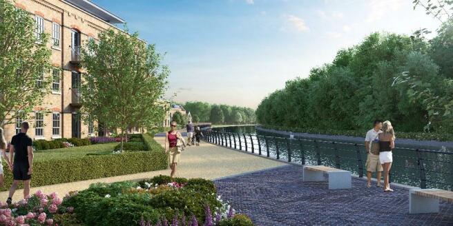 CGI Riverside Walk