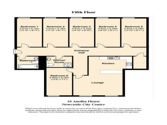FLOOR PLAN 5F