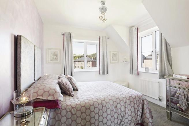 Showhouse bedroom