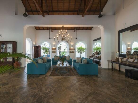 Open plan livingroom
