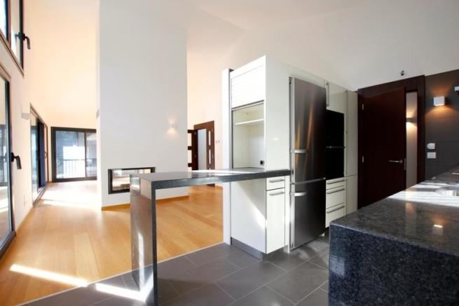 Kitchen and Living r