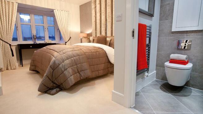 Avant designer bedroom with en suite
