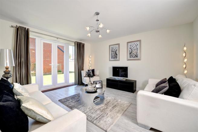 Image depicts a typical 2 bedroom Taylor Wimpey home