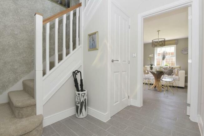 Eden hallway